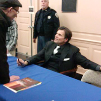 CD signing session after Winterreise on Feb 26, 2012 in Baltimore